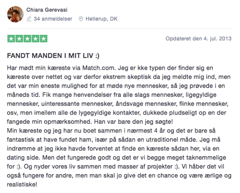 Match.com trustpilot