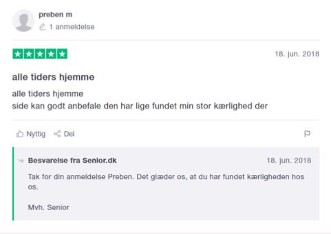senior dk trustpilot