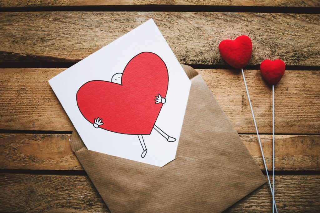 Kærlighedsbrev brev til kæresten