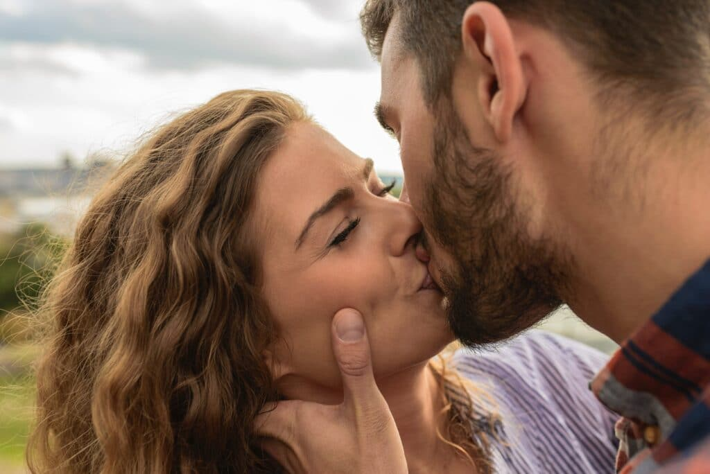 Første kys Det første kys