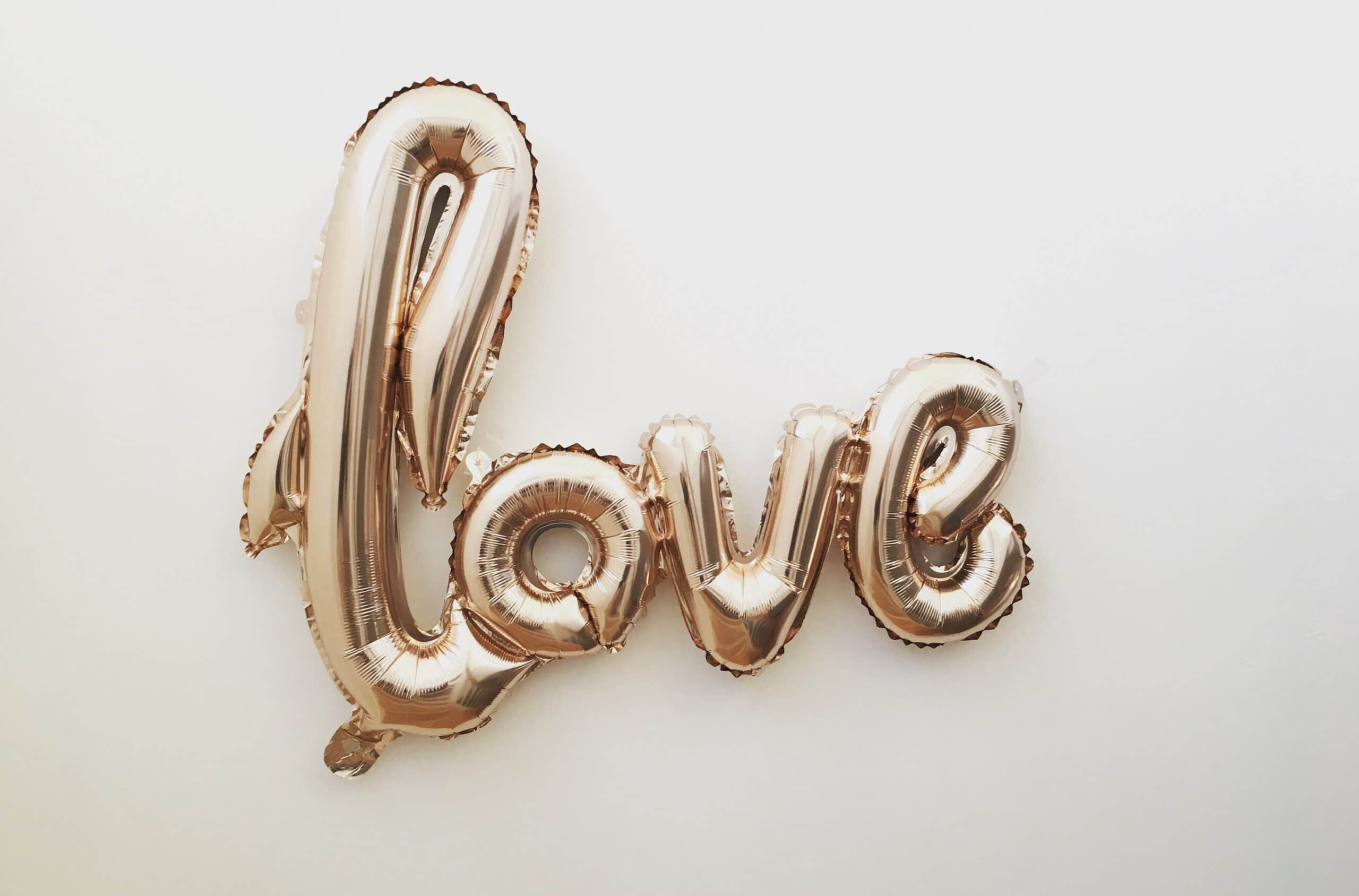 kærlighedserklæring ballon