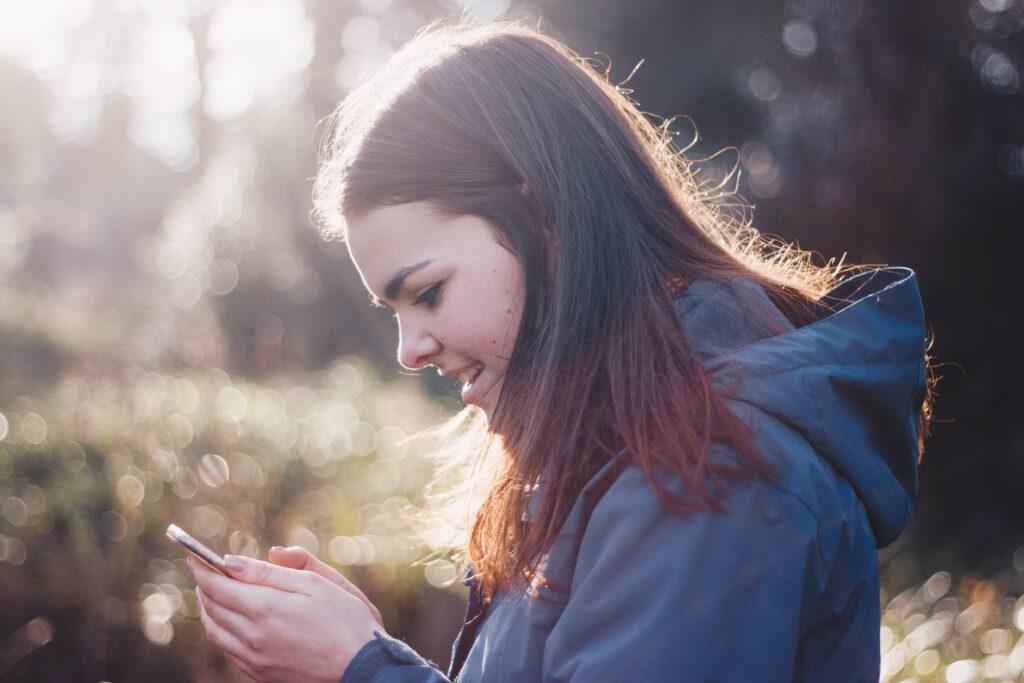 kvinde online på dating site