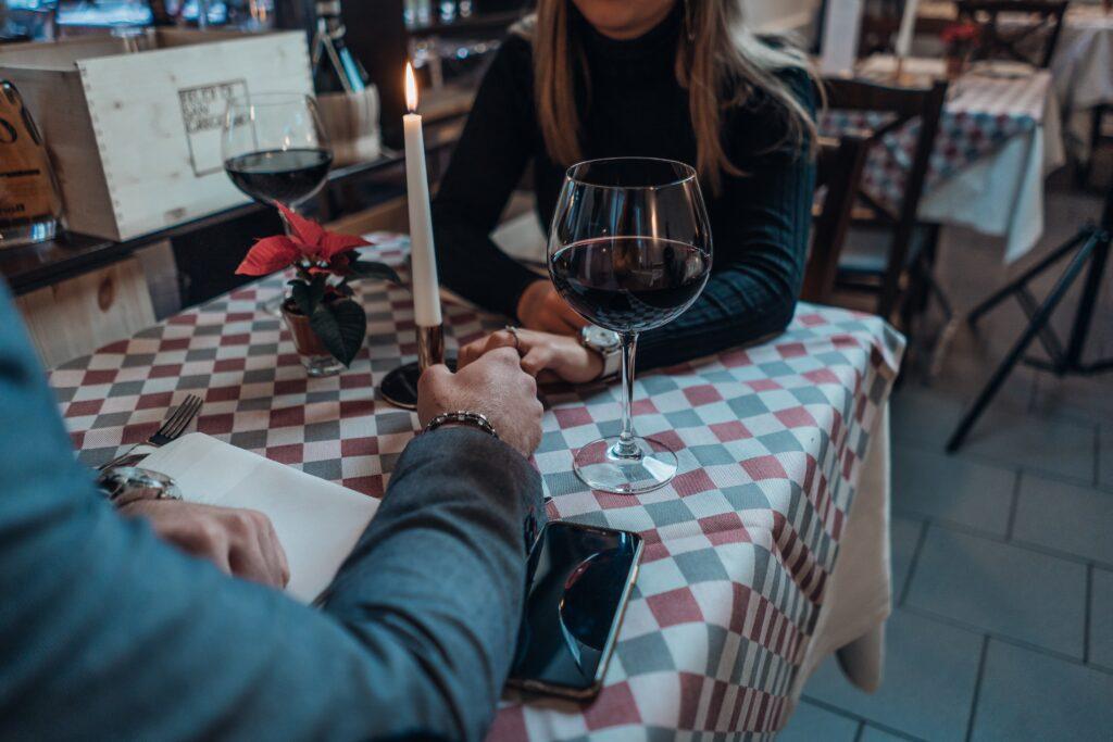 par på første date