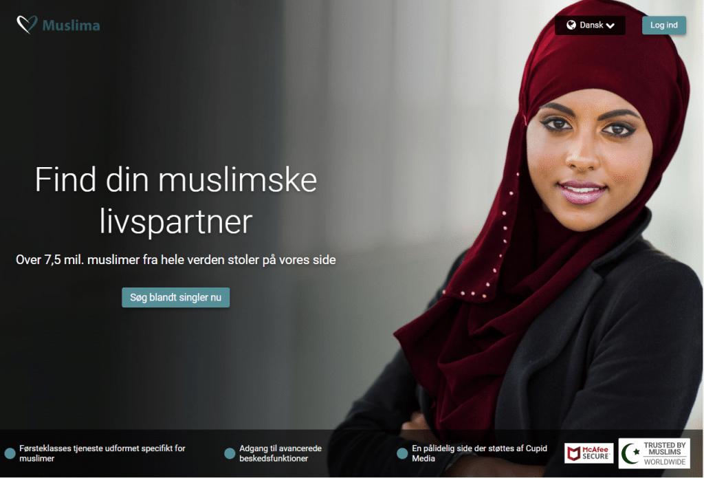 MuslimaCupid forside