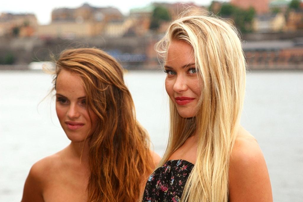 Svenske piger
