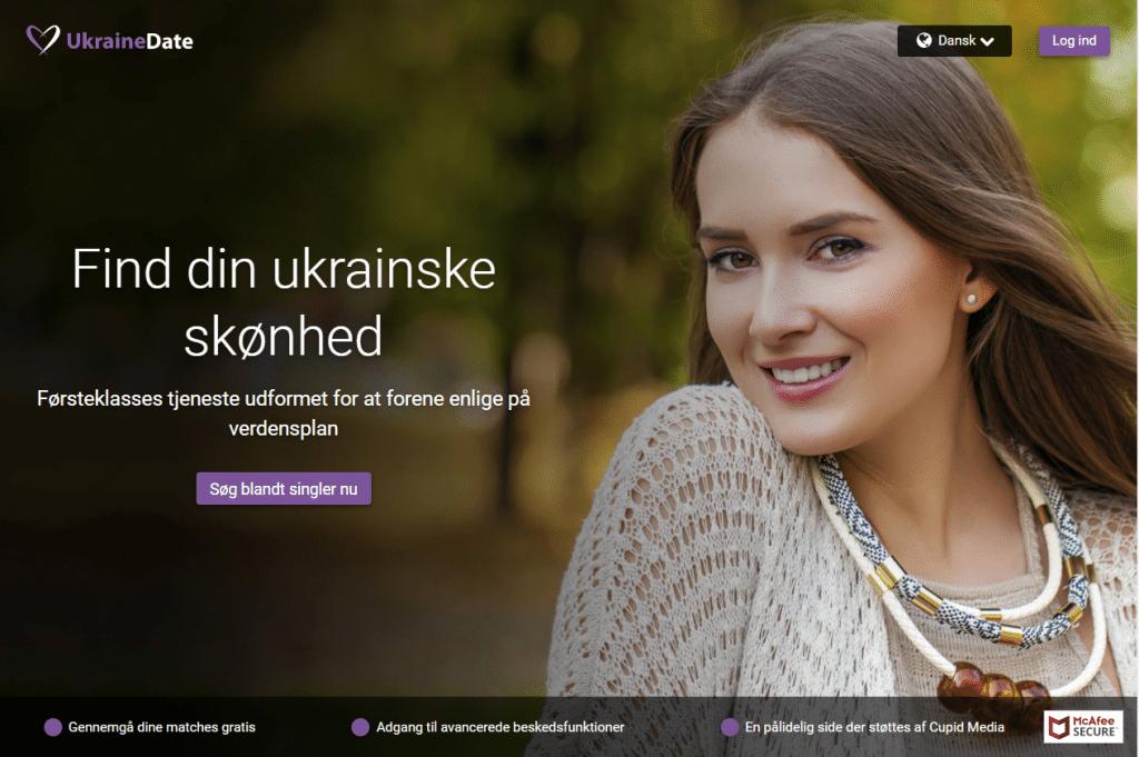 UkraineDate forside